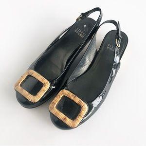 Stuart Weitzman Black Sandals